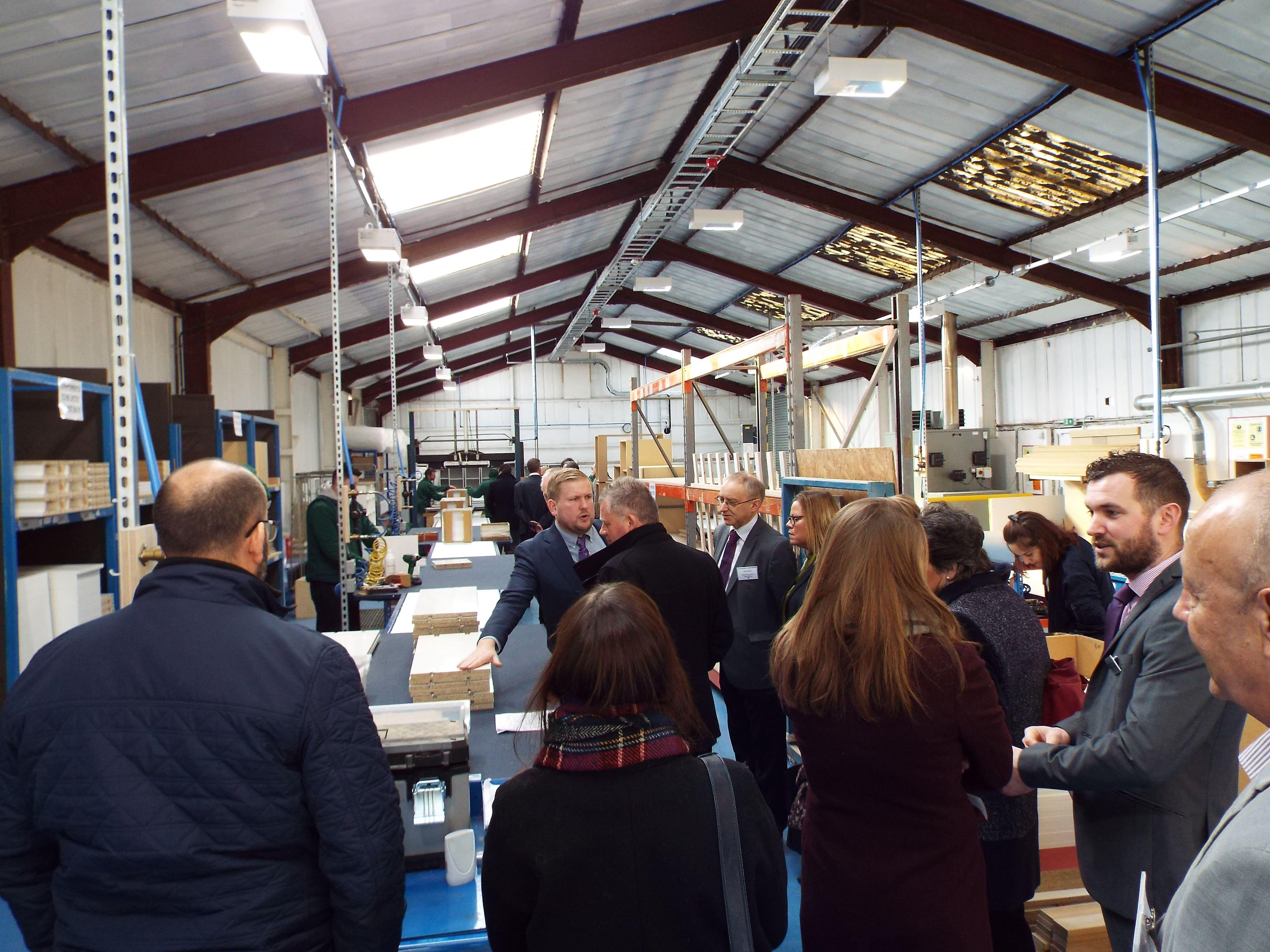 Guest visited Witley Jones Furniture assembly unit