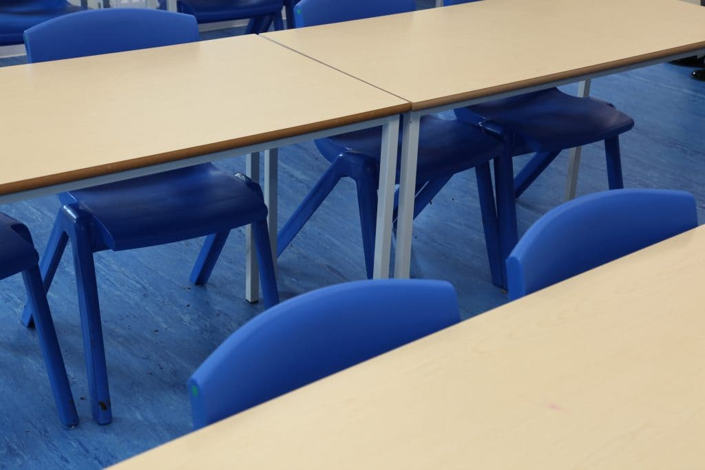 Classroom furniture Swanbourne House