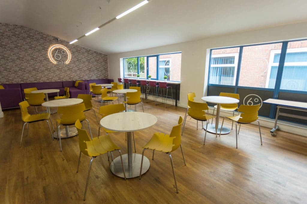 The Bewdley School open new Sixth Form Cafe