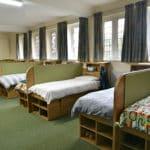 Beds in Bishop's Stortford College bedroom
