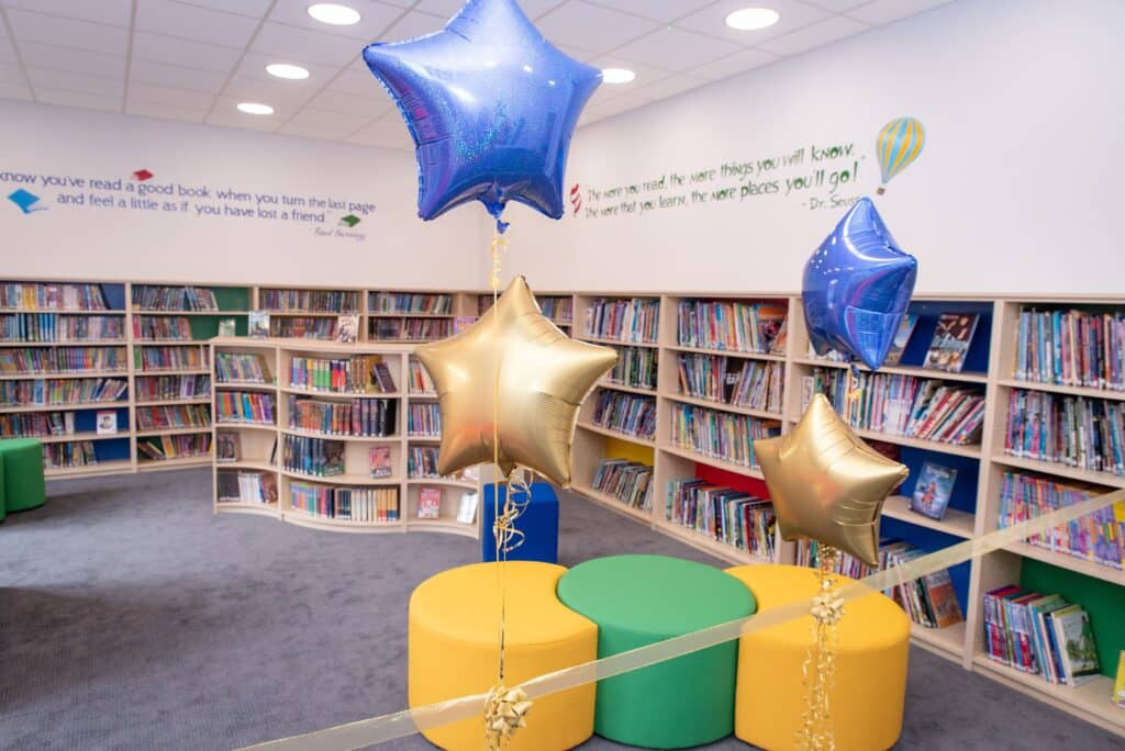The Blue Coat School, Birmingham open new Prep School Library