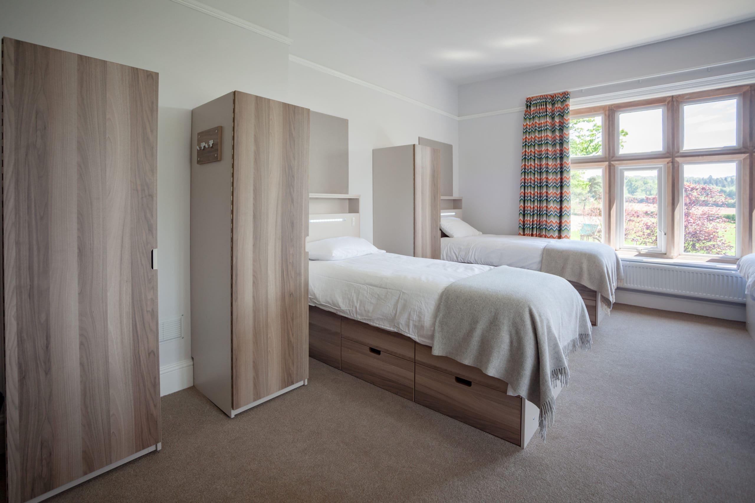 Hereford Cathedral School dormroom accomodation furniture