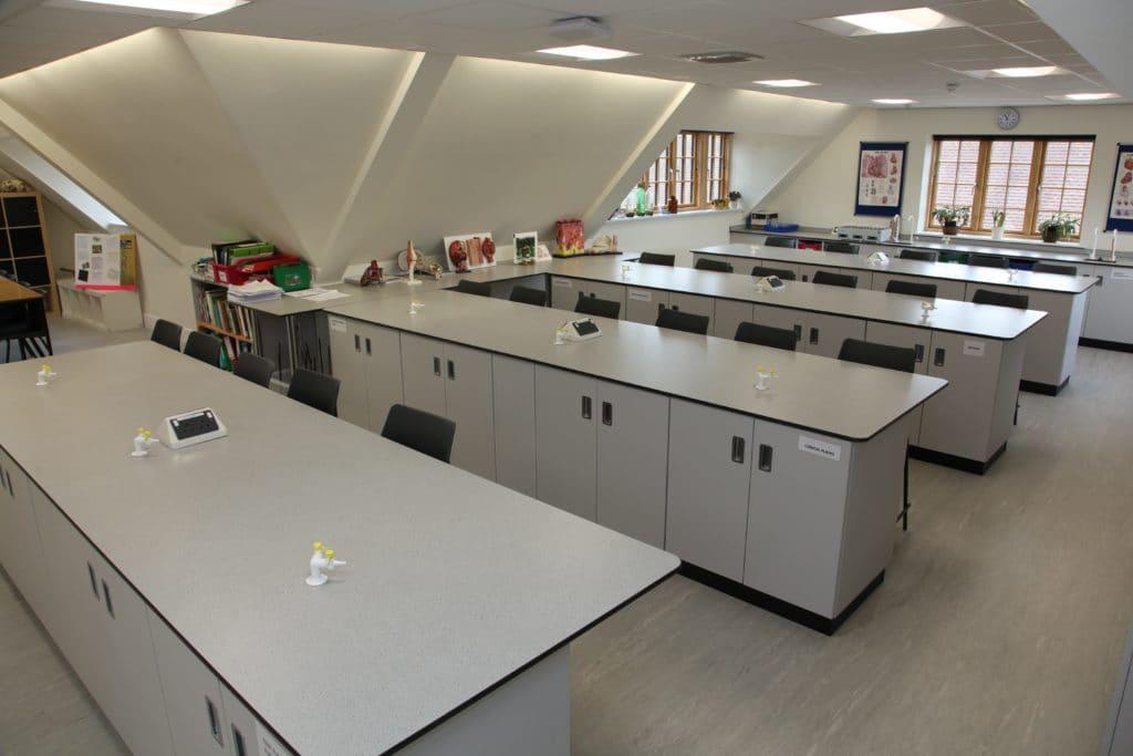 Prior's Field School Science Laboratory