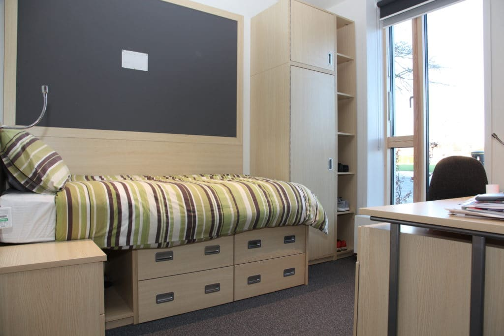 Wycliffe College bedroom boarding accommodation