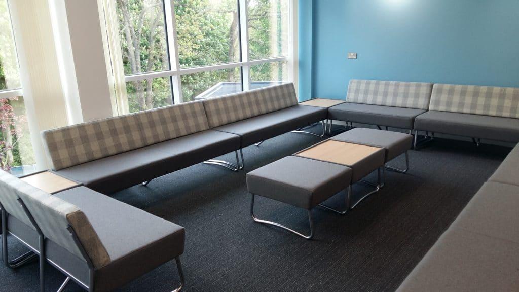 Edgbaston High School For Girls Waiting Room Seating