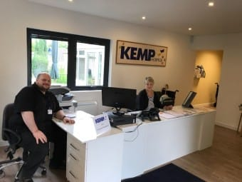 KEMP Hospice delighted with Bespoke Office Furniture