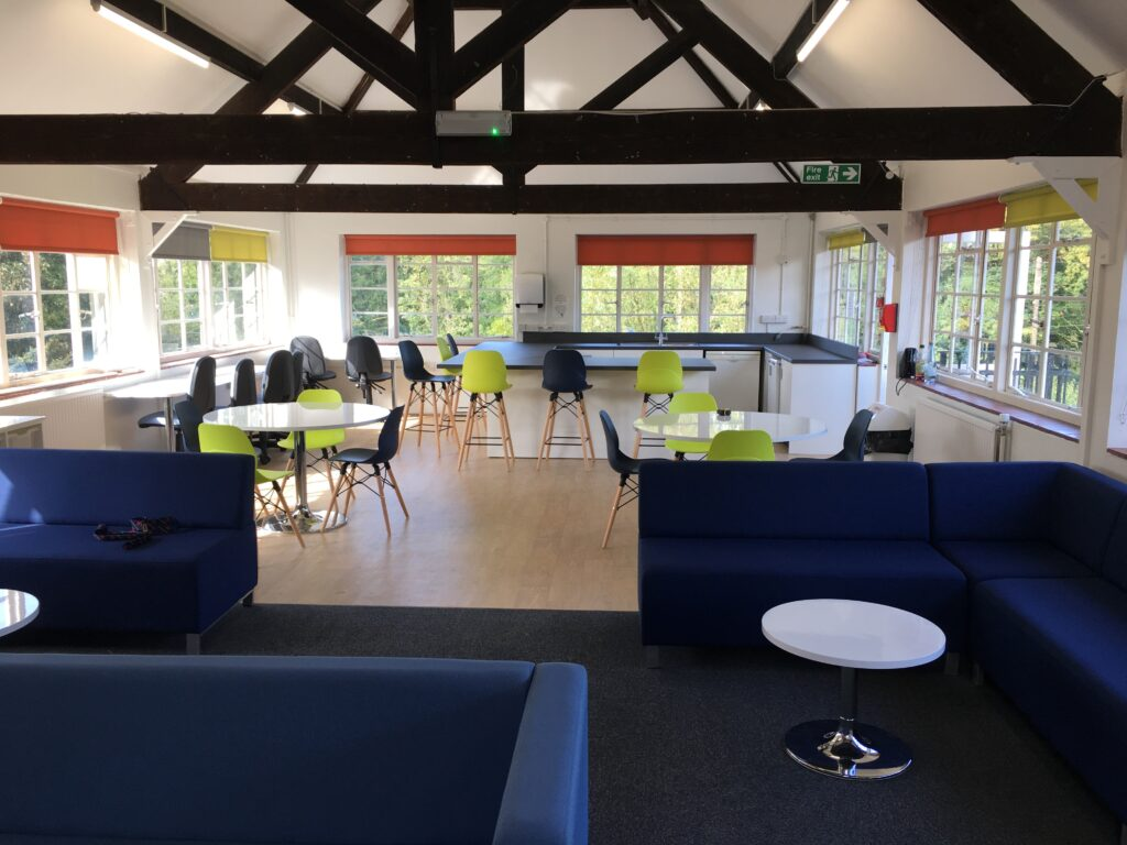 The Downs Malvern refurbish Common Room