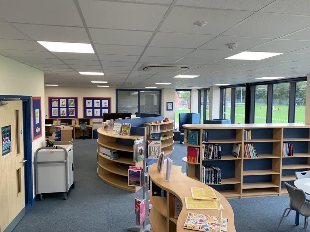 Holme Grange School learning resource centre