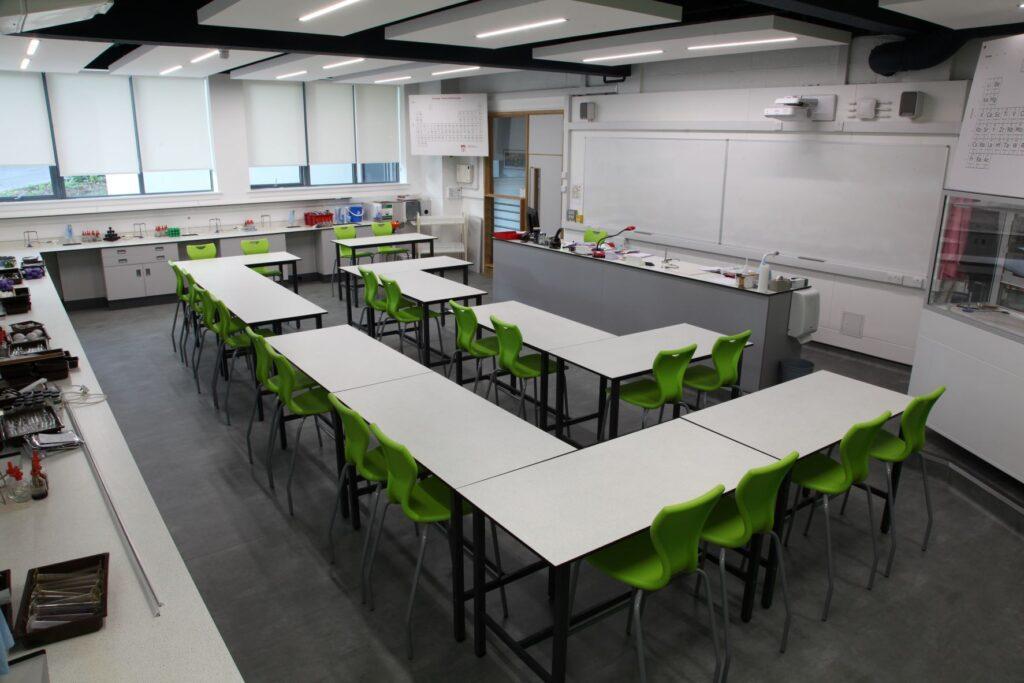 Radley College science laboratory